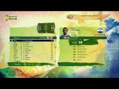 El Salvador in EA's FIFA World Cup 2014 Video Game