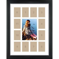12x16 Modern Black School Year Picture Frame with by CraigFrames
