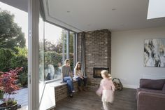 Generation Gain, designed and built by Architectural Farm, gives multi-generation family an idyllic, comfortable Irish home Covered Back Patio, Family Structure, South Facing Garden, Film Strip, Photo L, How To Level Ground, Open Concept, Detached House, Dublin