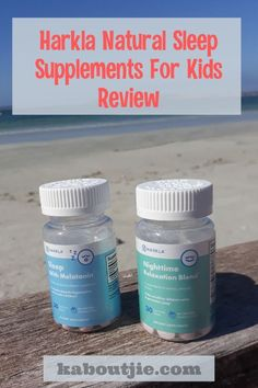 The Harkla natural sleep supplements for kids are absolutely fantastic. They worked beautifully from the very first night we started using them! Check out my Harka Natural Sleep Supplements For Kids Review on my website for all the details.