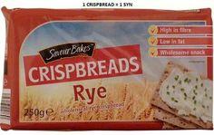Aldi Rye Bread Slimming World Shopping List, Aldi Slimming World, Slimming World Recipes, Diet Recipes, Cooking Recipes, Healthy Recipes, Healthy Meals, Healthy Eating, Aldi Syns
