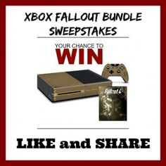 Nintendo Xbox FallOut Bundle Sweepstakes  Win FallOut Bundle(Canada) http://www.lavahotdeals.com/ca/cheap/nintendo-xbox-fallout-bundle-sweepstakes-win-fallout-bundlecanada/42782
