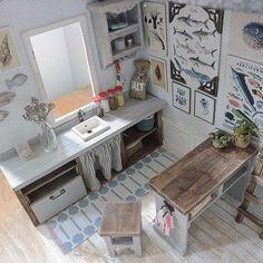 2017. Miniature Marine Dollhouse ♡ ♡ By cosydollhouse