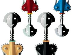 "Alessi ""Anna G"" Corkscrews Study Architecture, Architecture Magazines, Architecture Awards, Champaign Bottle, Gio Ponti, Rainbow Art, Unusual Things, Industrial Design, Alessi Products"