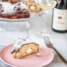 Inspiration nord sud avec une #couronnedesrois à la manière d'un #christstollen... La #recette sur #panierdesaison #blog #food #recipe #xmasrecipe 👉lien dans ma bio