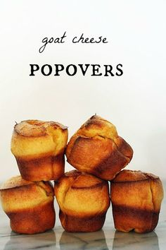 goat cheese popovers