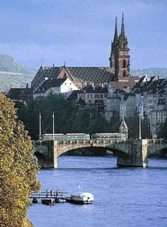 Basel, Switzerland - This is such a healthy place to live.  We walked, biked, and rode trams to get around.