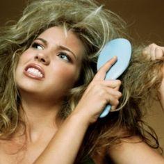 علاج منزلي للقضاء على الشعر الجاف