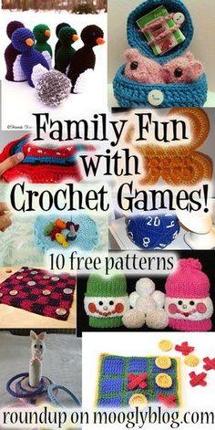 Free patterns – Game Night Anyone?