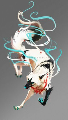 Hunter no pups, or mate. She makes her own decisions even under the orders of the Alpha, she is rude but all the male wolves trip at her heels. Fantasy Wolf, Fantasy Beasts, Dark Fantasy Art, Pet Anime, Anime Animals, Arte Furry, Furry Art, Cute Fantasy Creatures, Mythical Creatures Art