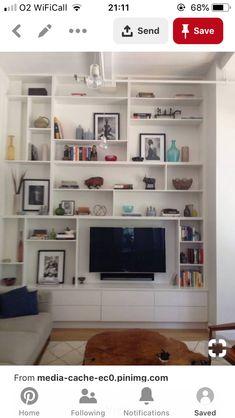 Shelving, Bookcase, Flat Screen, Furniture, Home Decor, Shelves, Blood Plasma, Decoration Home, Room Decor