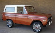 If i could have ANY CAR this would be it! (in a dif color) Ford Bronco Classic Bronco, Classic Ford Broncos, Classic Trucks, Classic Cars, Bronco Ii, Early Bronco, Jeep 4x4, Us Cars, Ford Motor Company