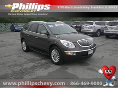 2010 Buick Enclave, Cocoa Metallic, 14759630    http://www.phillipschevy.com/2010-Buick-Enclave-1XL-Chicago-IL/vd/14759630