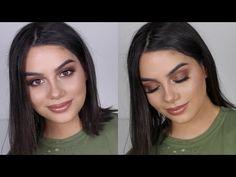 Easy Bronze Smokey Eye - YouTube