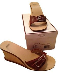 Coach Sandals size 8.5 pre-owned....just $36 in my Tradesy Closet