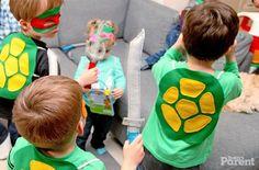 O tema das Tartarugas Ninjas voltou com tudo!!  A festa agrada os meninos.....Inspire-se!                                            Fonte: ...