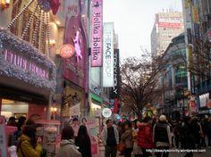 Myeongdong, Korea - lived, learned, check!
