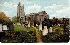 POSTCARD OF ST MARYS CHURCH PRITTLEWELL ESSEX 15297 | eBay