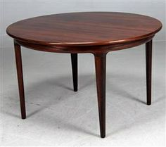 Just listed on LushPad com   Stunning Danish rosewood dining table  Made by  BrdrBeautifully Crafted Solid Teak Dining Table Designed by Niels  . Rosewood Danish Dining Table And Chairs. Home Design Ideas