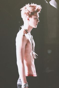 a shirtless sehun ~ #yourwelcome #exo