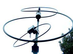 Magloop8, double magnetic loop, 8 shape magnetic loop antenna magnetic loop, RigExpert, Rig Expert, MixW