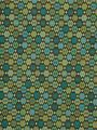 Robert Allen fabric pattern with sea glass blues and greens...