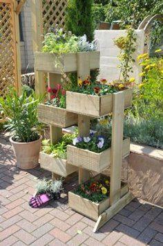 Coppice Vertical Planter, vegetable, planter, trough From Buttercup Farm: Amazon.co.uk: Garden & Outdoors