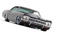 Impala SS by Foose. Holy crap I want it 65 Chevy Impala, Chevrolet Camaro, Chevy Luv, Lowrider, Gm Car, Old School Cars, High School, Automobile, Chip Foose