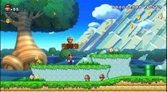 """New Super Mario Bros. U "". Videojuego exclusivo de Wii U. (2012). (Foto: captura de pantalla)  "