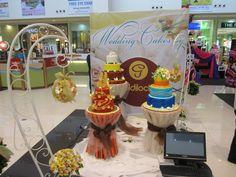 Kasalang Filipino sa Davao held last July 19-21, 2013 at the Ayala Abreeza Mall, Davao City! Goldilocks' exhibit booth ♥ Filipino, Birthday Candles