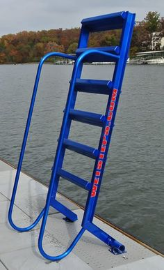 Floating Stairs For Dock Or Sea Wall Fibersteel Boat