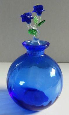 Vintage Glass Perfume Bottle - Picmia