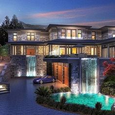 """Luxury Homes Interior Dream Houses Exterior Most Expensive Mansions Plans Modern 👉 Get Your FREE Guide """"The Best Ways To Make Money Online"""" Dream Home Design, Modern House Design, My Dream Home, Future House, My House, Dream Mansion, Luxury Homes Dream Houses, Dream Homes, Modern Mansion"""