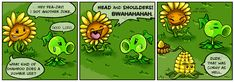 Punny Sunny - Plants vs Zombies - 3 by Nestly.deviantart.com on @DeviantArt