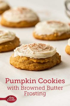 It's not fall until you've got a plate of warm-from-the-oven pumpkin cookies in front of you, but these are no ordinary pumpkin cookies.