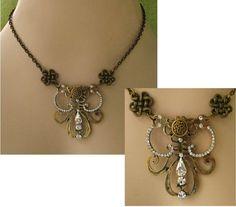 Celtic Knot Gold Pendant Necklace Jewelry Handmade Accessories Adjustable  #Handmade