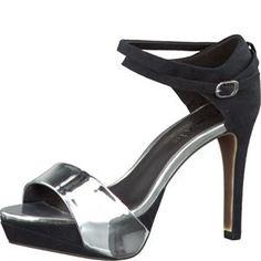 Tamaris-Schuhe-Sandalette-BLACK/SILVER-Art.:1-1-28317-20/093
