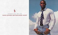 Brand: Ralph Lauren Polo Oxford Season: Spring/Summer 1997 Model(s): Tyson Beckford Ph: Bruce Weber what a cool look!