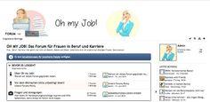 Oh My Job Forum für Frauen