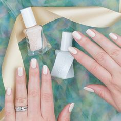 Flawlessly feminine. Perpetually pretty. This graceful silky champagne ivory nail polish is always on pointe. Introducing 'satin slipper' from the NEW gel couture ballet nudes collection. A luxurious long-wear manicure in 2 easy steps. No base coat. No UV or LED lights needed. Shop this gorgeous shade & don't forget the top coat: http://www.essie.com/gel-couture/colors/Neutrals/satin-slipper.aspx