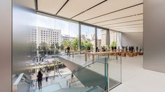Apple's New Flagship in Union Square - San Francisco (Video)