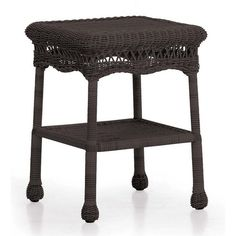 Found it at Wayfair - Wicker End Table
