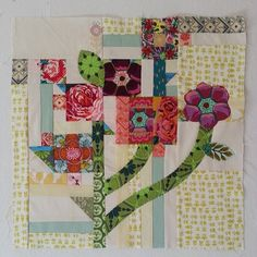 quilt block called Mod Corsage by Anna Maria Horner