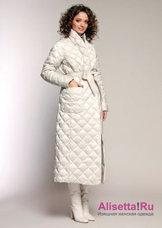 Look Fashion, Winter Fashion, Fashion Outfits, Womens Fashion, Fashion Coat, High Fashion, Coats For Women, Sweaters For Women, Long Down Coat
