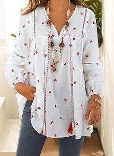 Floryday - Os Melhores Preços Online da Moda Feminina Mais Recente Womens Fashion Online, Latest Fashion For Women, Selling Crafts Online, Tunic Tops, Best Deals, Long Sleeve, Casual, Sleeves, Shopping