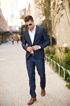 Mens Suit Fashion