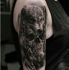 40 Awesome skull Tattoo Designs