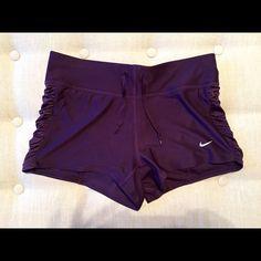 Nike Dri-Fit Workout Shorts - NWOT Purple Women's Size XS Nike Dr-Fit Shorts, NWOT, Never Worn, Built in Underwear Nike Shorts