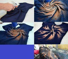 Intersting way of tie dyeing