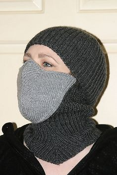 Ravelry: Ninja Mask – Winter Balaclava pattern by Kate Quinn http://www.ravelry.com/patterns/library/ninja-mask---winter-balaclava